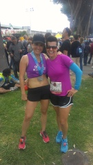 my running angel: julz!