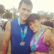 after: exhausted + exhilarated!